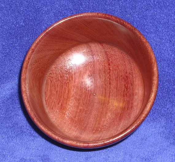 Hand Turned Bowl - Purpleheart
