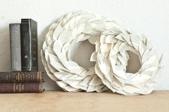 Leaves Paper Wreath