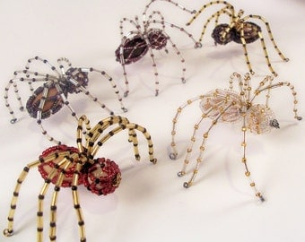 Christmas Spider - Pattern, Beading Tutorial in PDF