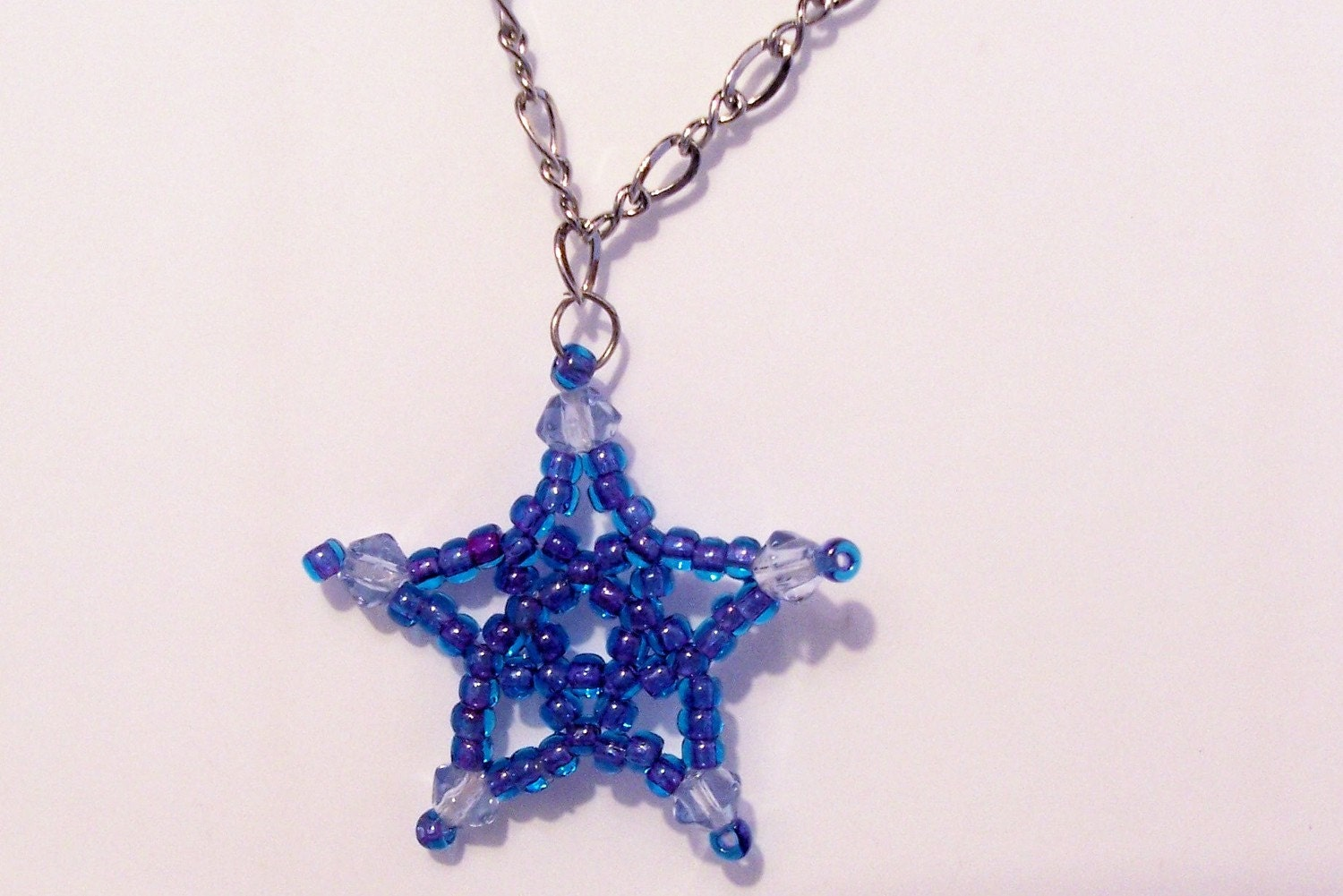 Five Point Star Pattern Beading Tutorial In PDF