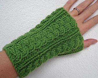 Knitting PATTERN - Wrist Warmers