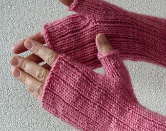 Knitting PATTERN - Pinstripe Gloves
