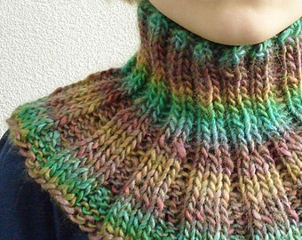 Knitting PATTERN - Childrens Cowl