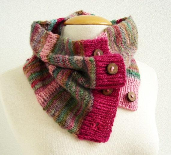 Knitting PATTERN - Warm Winter Cowl