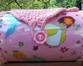 Girl -  Teen Up-Cycled Recycled Plastic Bottle and Crochet  Barrel Purse  Princess Kingdom