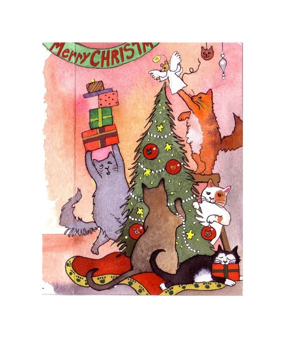 Cat Christmas Hanukkah Gifts For Cats Lovers Mousebreath