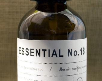 Nine Essential No 18 w/ Lavender, Eucalyptus &Tea Tree,