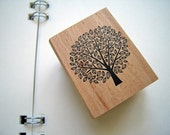 Pretty Japanese Tree Wooden Rubber Stamp (STP-030) for cards, tags invitations making, scrapbooking, packaging