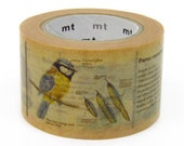 MT ex Encyclopedia Japanese Washi Tape / 30mm wide Animals