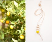 Yellow St Tropez necklace