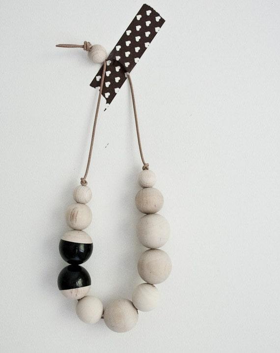 Black Oslo necklace nr one
