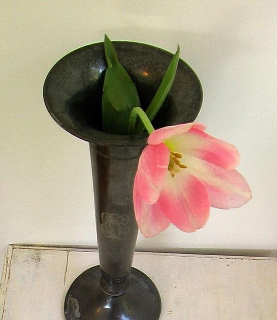 Victorian Metal Vase