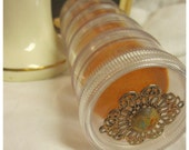 Vintage Jewelry or Earring Stacking Travel Container