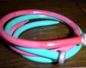 handmade bangles ... VINTAGE KNITTING needle BRACELET Bangles item16 ...