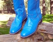 Electric Blue Justin Ropers