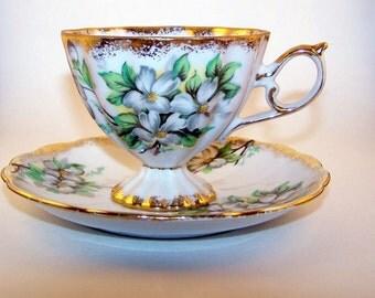 Cherry Blossom Tea Cup