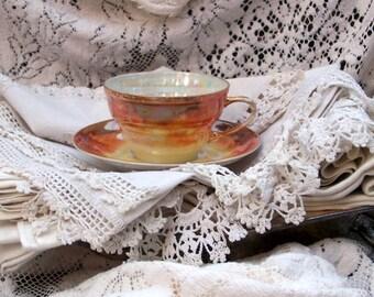 Checkoslovakian Luster Ware Tea Cup