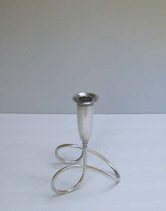 Mid Century Napier Silver Candle Holder Reserved