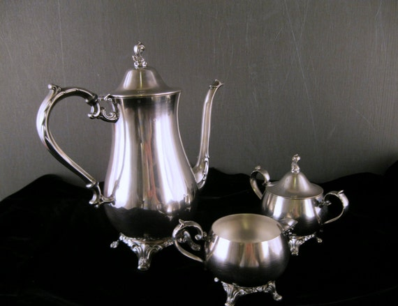 Oneida Silver Tea Set Reserved For Jean