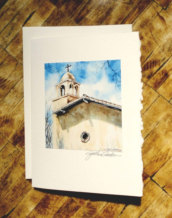 High Noon at Tlaquepaque Fine Art Notecards