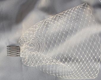 Custom - birdcage veil