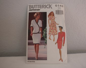 Butterick 6142 Women's Top and Skirts