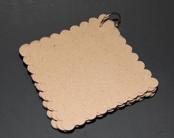 Mini Chipboard Scalloped Album