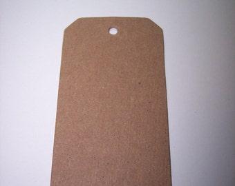 Die Cut Chipboard Tags set of 12