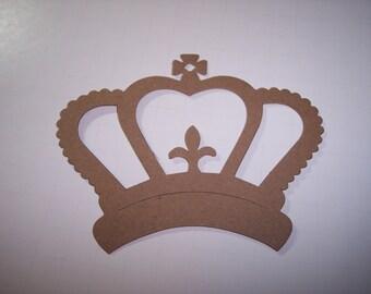 Fancy Crown Die Cut Set of 6