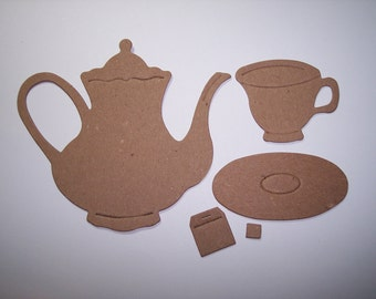 Time For Tea Die Cuts Set of 10