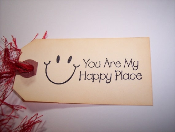You Are My Happy Place Tags set of 6 from mreguera on Etsy ...