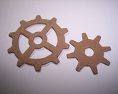 Mini Gears Die Cuts Set of 6