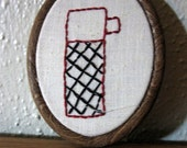 Thermos Mini Hand Embroidery