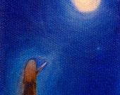 ACEO giclee fine art print  - Moon Maiden