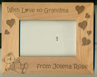 Personalized Gift Frame from Baby - With Love from .... Great gift