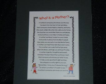 Mother Poem