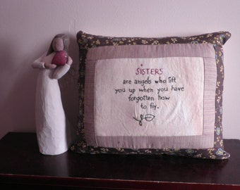 Sister Angel Pillow