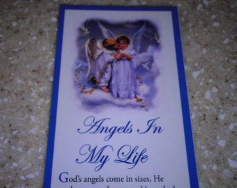 Angels in My Life Bookmark (package of 10)