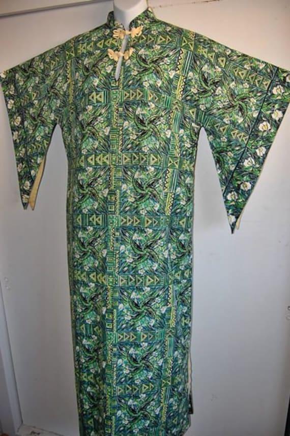 Rare Vintage 1940s 1950s Hawaiian Pake Muu    xxl xl