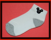 Mickey Mouse Button Socks for boy, girls, men, and women - you pick sock size and button color