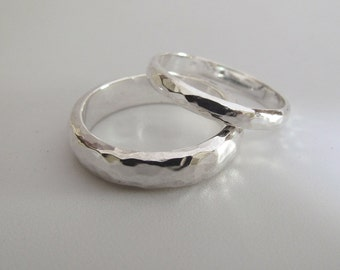 His and Hers, Wedding Rings Set