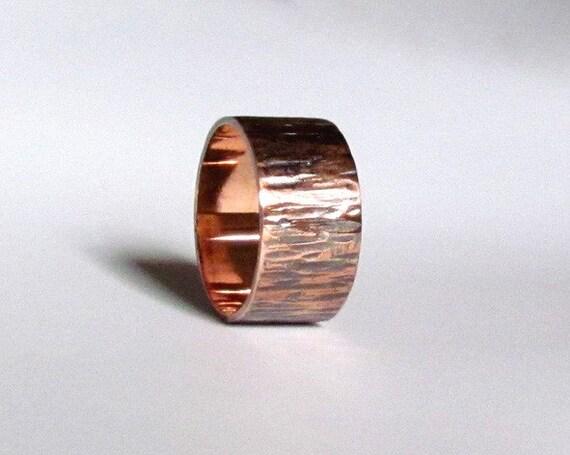 Bark Band, Copper, Custom Made