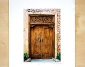 Ayana Spa, Bali door, mated print