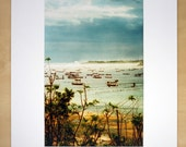 Day's End, Bali Indonesia, matted print
