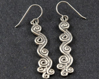Spring Air East Sterling Silver Earrings