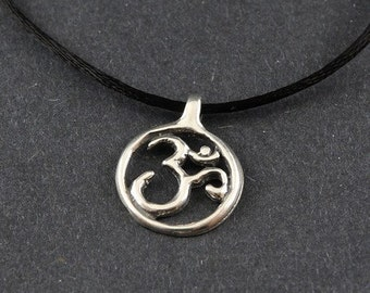 Ohm Sterling Silver Necklace