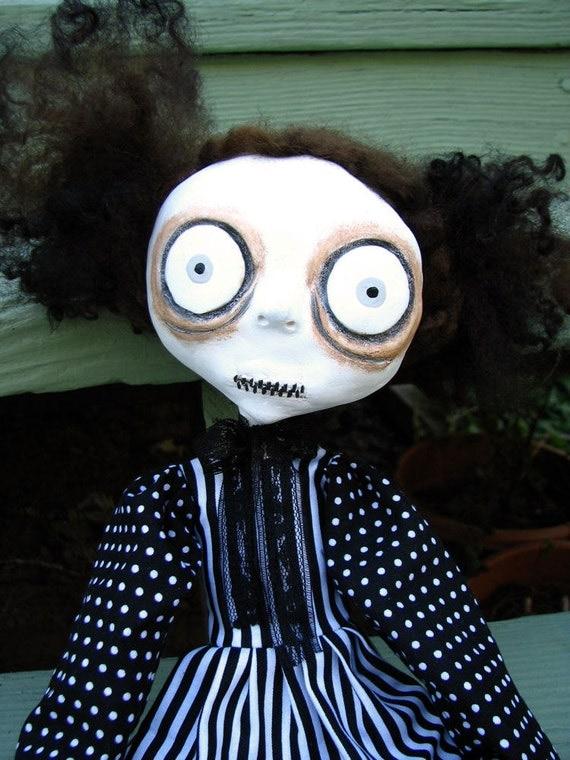 Art Doll - Beatrice the Creep - SALE