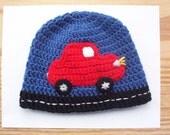 Beep.. Beep..   Car Beanie Hat - custom order