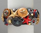 All-Stars Button Bracelet