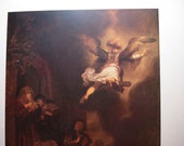 The Angel Leaving Tobias and His Family - Rembrandt - Religious Artwork